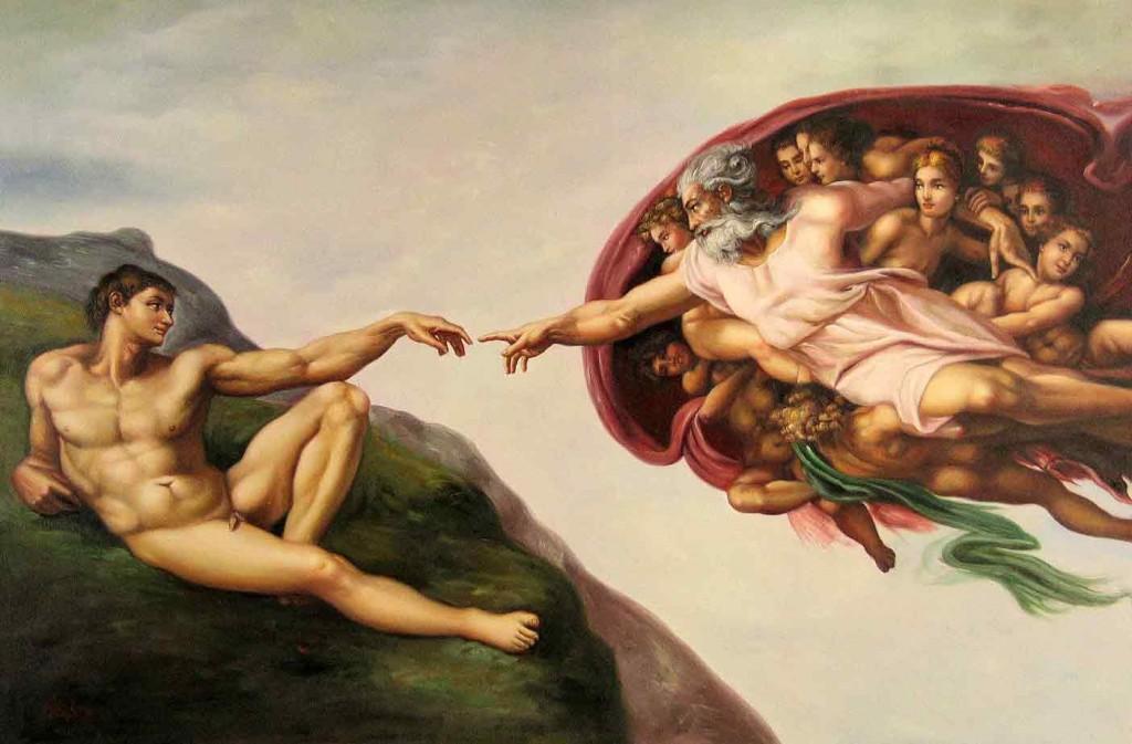 The Creation of Adam - Michelangelo